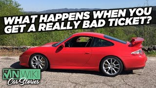 What happens when you get a crazy speeding ticket?