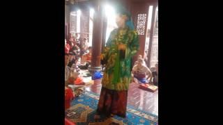 Tạ thị Yến  Hạ long Qn hầu các giá Chầu ( tạ đàn bách nhật) tai Lục cung Linh từ
