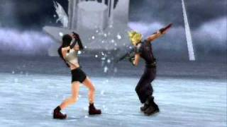 final fantasy dissidia duodecim tifa v.s cloud