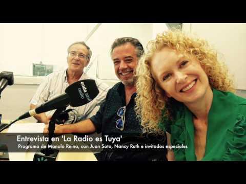 Nancy Ruth -con Juan Soto en La Radio es Tuya, con Manolo Reina (entrevista en español)