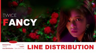 TWICE (트와이스) - FANCY | Line Distribution (Requested by @STEV…