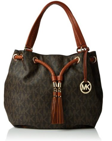 7c3d9ffeadc0 Michael Kors Jet Set NS Large Gathered Tote Handbag Review - YouTube