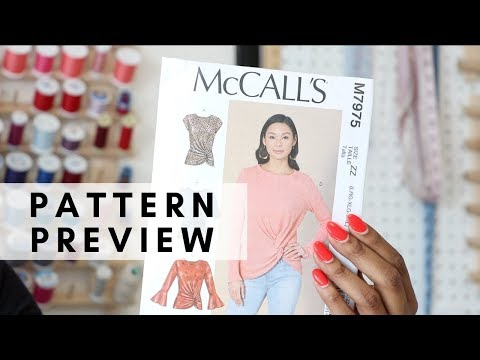 PATTERN PREVIEW: MCCALLS 7975