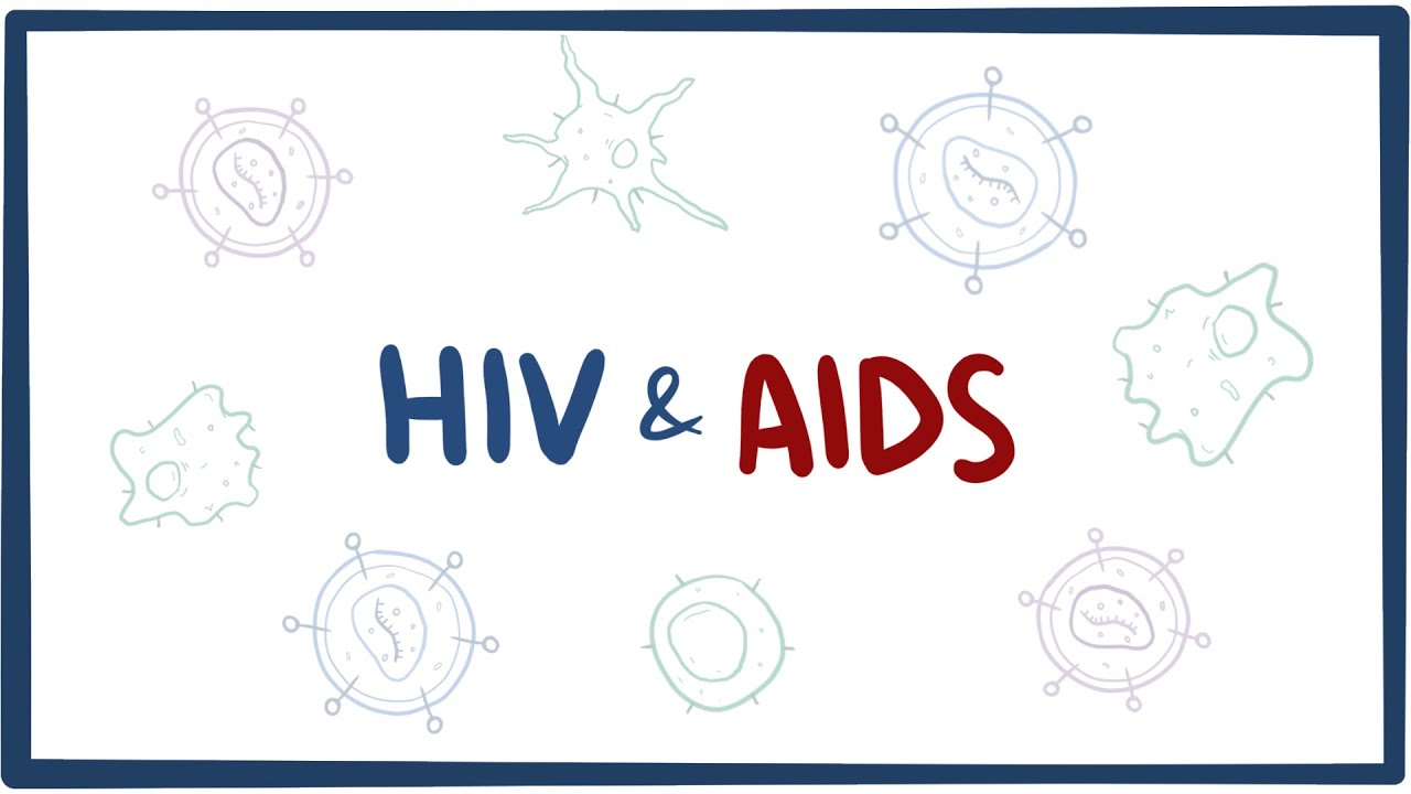 hight resolution of diagram of effect of hiv aid