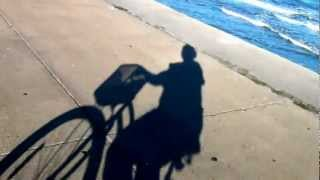 Biking on the Galveston Seawall