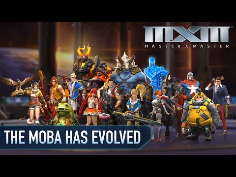 MXM — The MOBA Has Evolved