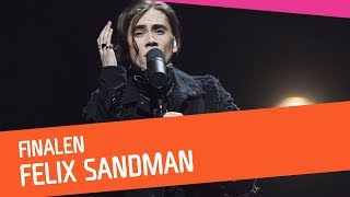 FINAL: FELIX SANDMAN – Every Single Day | Melodifestivalen 2018