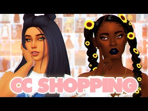 SIMS 4: LET'S GO CC SHOPPING + CC LINKS (100+ ITEMS)