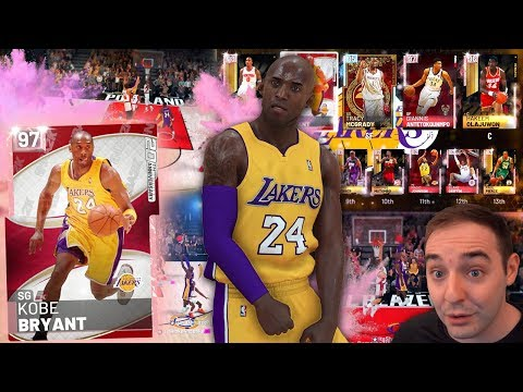NBA 2K19 My Team PINK DIAMOND KOBE BRYANT IN ACTION! THIS CARD CAN DO IT ALL!!!