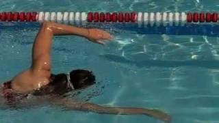 Техника плавания Кролем (замедленная съёмка)