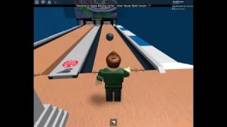 AWESOME Brunswick GSX Pinsetter Video In Roblox