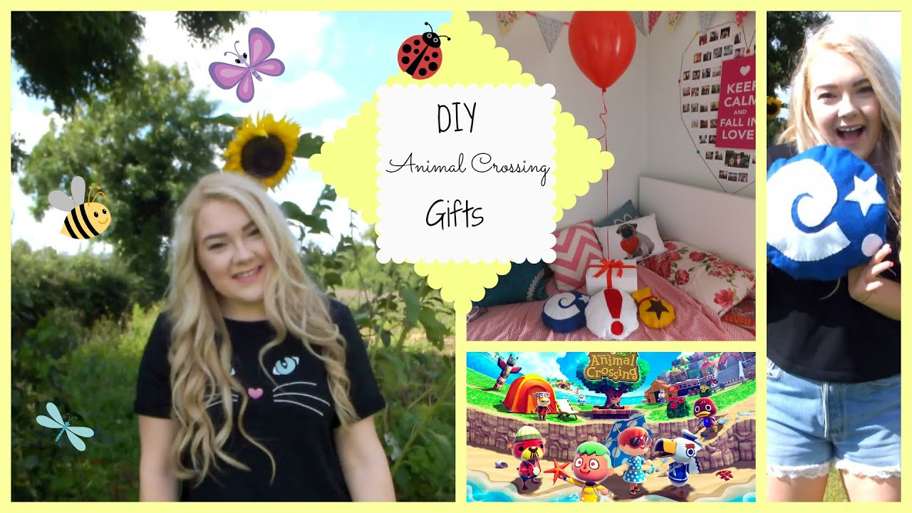 DIY Animal Crossing Gifts YouTube