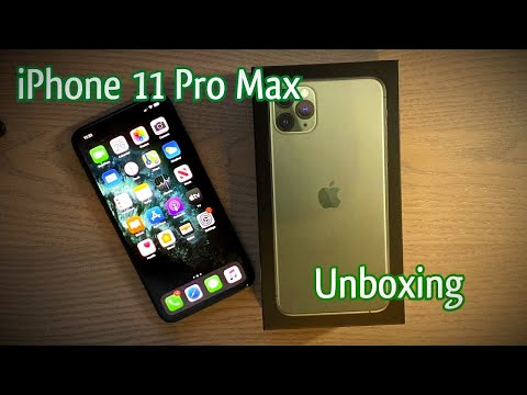 IPhone 11 Pro Max Unboxing! - Midnight Green