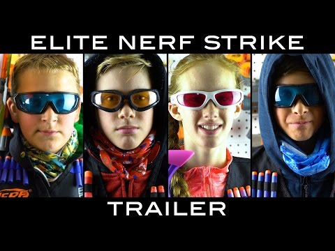 Thumbnail: Elite Nerf Strike: Arsenal | TRAILER (4 Part Nerf Movie)