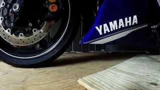 Yamaha R6 oil change tutorial.