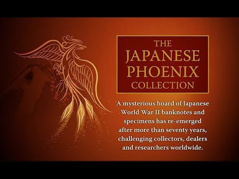The Japanese Phoenix Collection - Japanese World War II military money
