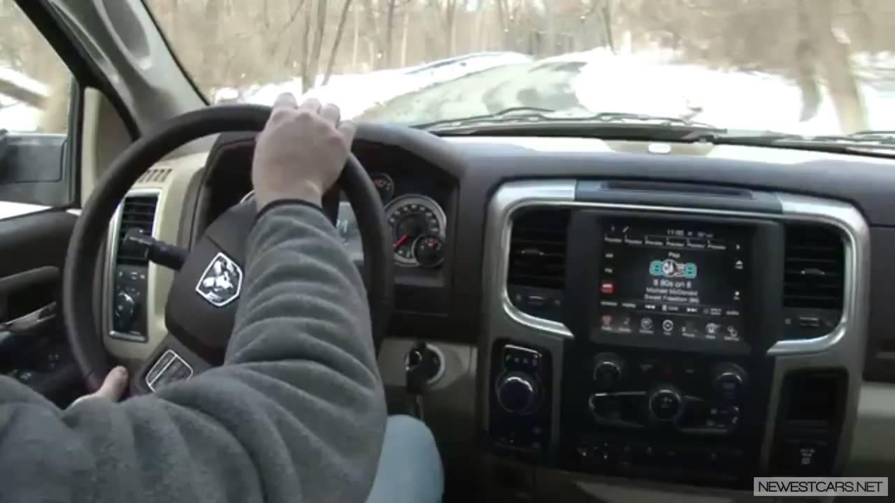 Dodge Ram Quad Cab >> 2013 Ram 1500 SLT Crew Cab Review - YouTube
