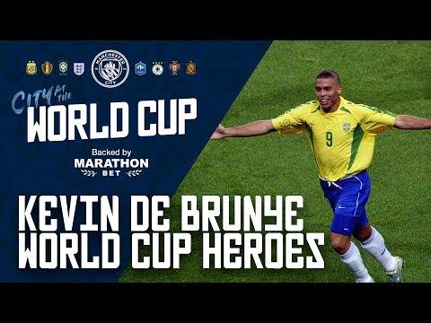 "DE BRUYNE WORLD CUP HEROES: ""Ronaldo"""