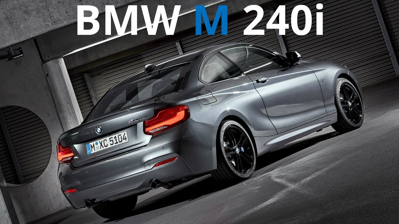 2017 bmw m 240i xdrive coupe elite athlete with powerful engine 340 hp 500 nm youtube. Black Bedroom Furniture Sets. Home Design Ideas