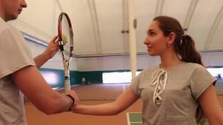 Первая тренировка по большому теннису | Обучение теннису в Одессе