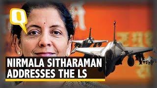 Rafale Row: Rahul Gandhi Responds to Nirmala Sitharaman's Address in Lok Sabha