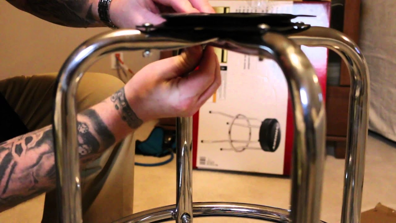Husky Brand Bar Shop Swivel Stool Tutorial Video Amp Review