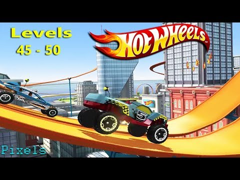 Hot Wheels Race Off - Level 45 to 50 All Levels 3 Stars