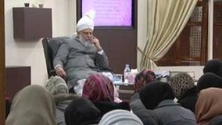 Gulshan-e-Waqfe Nau (Lajna) Class: 4th December 2010 - Part 2 (Urdu)