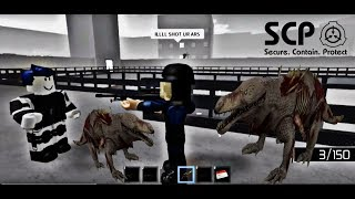 SCP 682 RUN!! | ROBLOX Minitoon's SCP Containment Breach