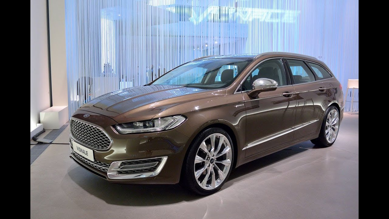 2016 New Ford Vignale Mondeo Turnier '2015 - YouTube