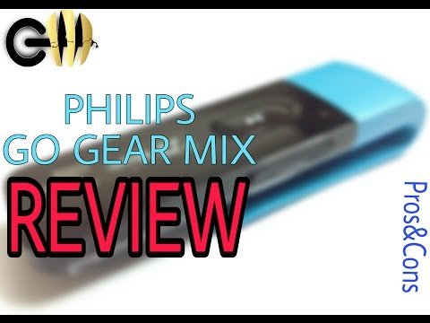 Philips GoGear Mix Mp3 Player Detailed Review