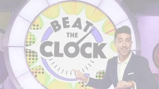 Paul Costabile hosts Universal Kids game show Beat the Clock: Clean Your Vroom