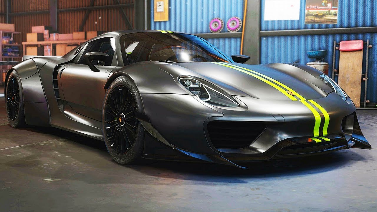 widebody porsche 918 spyder need for speed payback. Black Bedroom Furniture Sets. Home Design Ideas