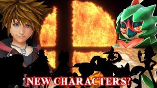 Super Smash Bros Switch - 10 More Newcomer Characters!