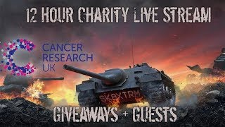 Charity Live Stream Announcement - 120+ Giveaways! - Wot Blitz