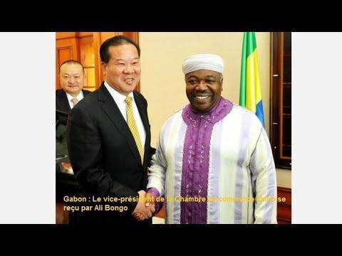 GABON : Le vice président de la Chambre de commerce chinoise reçu par Ali Bongo