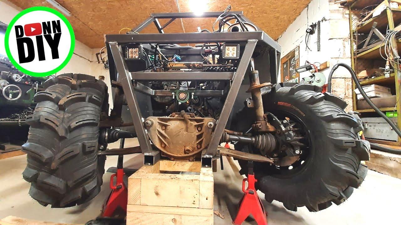Clutch, Exhaust, Fuel Pump - 4x4 Off-Road UTV Build Ep.22