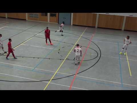 U16 Jhg2002 FC Augsburg - RB Leipzig 4:2; FINALE  NORIT Cup Dettelbach 14.01.2018