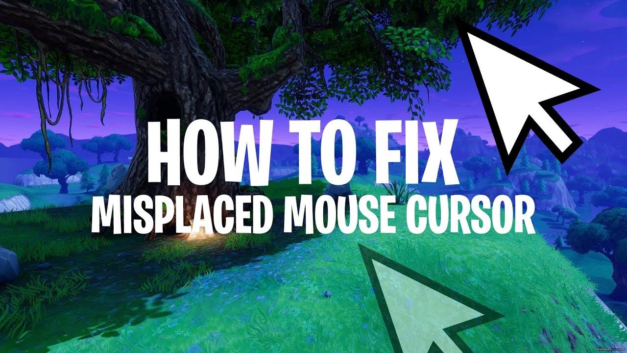 How to fix a misplaced mouse cursor in Fortnite BR!