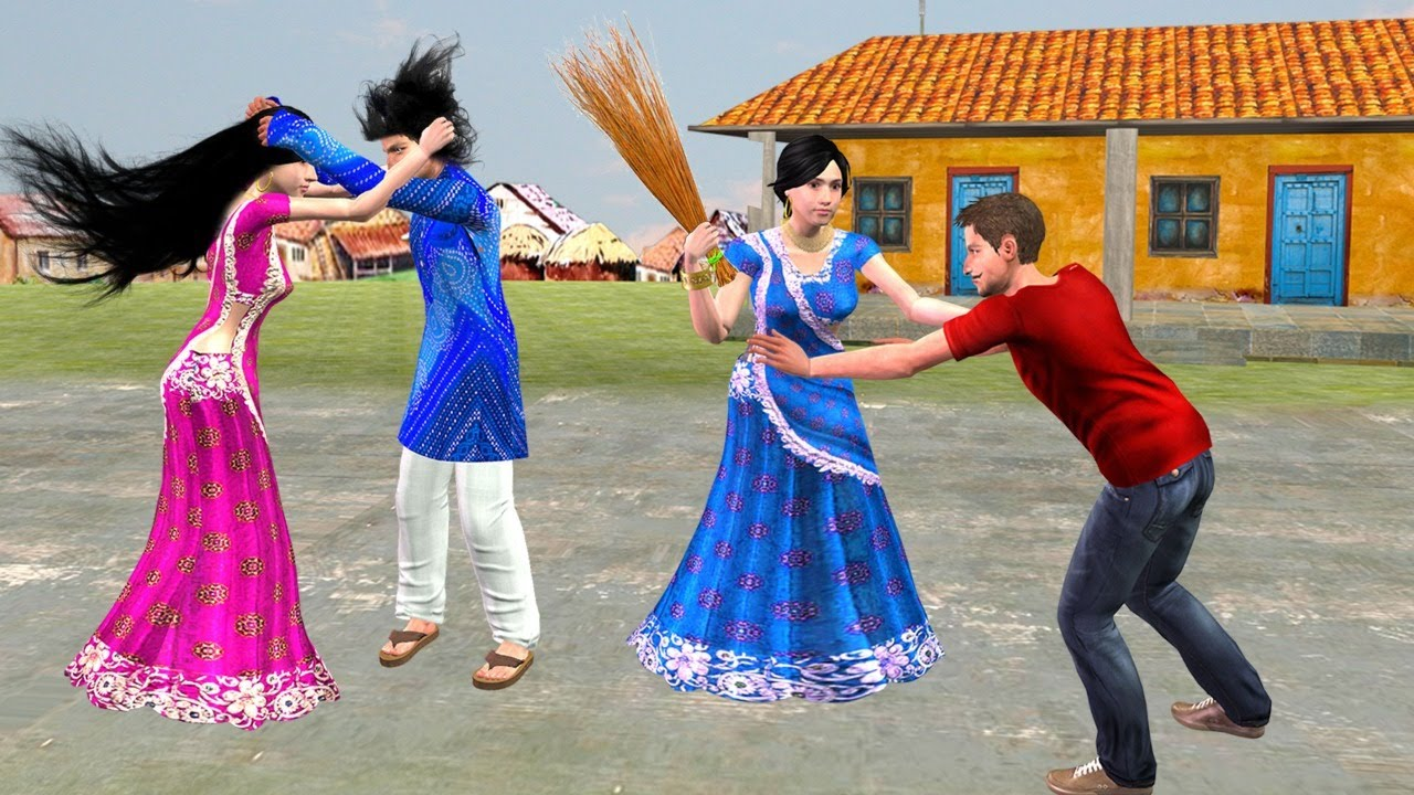 पत्नी Vs पति लड़ाई Pati Vs Patni Ki Ladai Comedy Video हिंदी कहानिया Hindi Kahaniya Comedy Video
