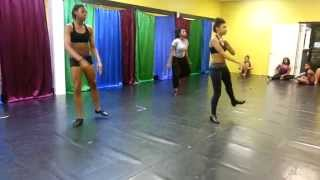 "Tap Dance Teen Company Dancers Practice ""A New Day"""