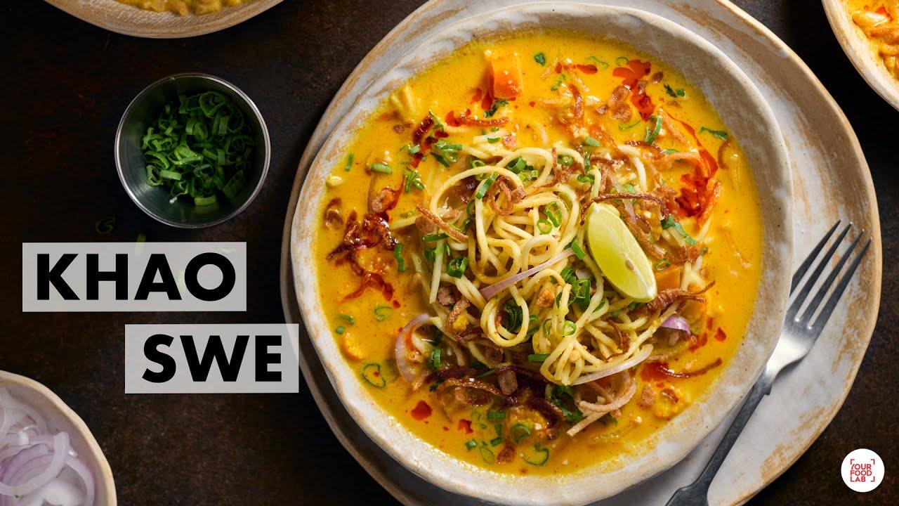 Download Khao Swe Recipe   Veg Burmese Khow Suey   How to make Coconut Milk   Chef Sanjyot Keer
