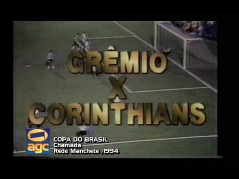 Chamada Copa do Brasil - 1994 - Rede Manchete
