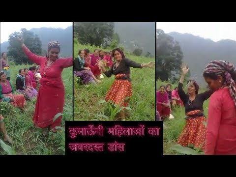 Kumaoni Super Dance | Kaan Mein Double Jhumka Song
