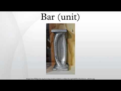 Bar (unit)