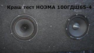 Краш тест НОЭМА 100ГДШ65-4
