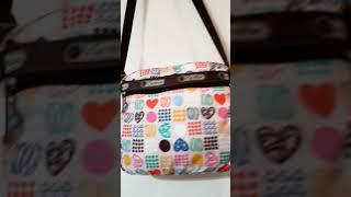 [헬로마켓] - 정품 레스포삭 미니 크로스백 가방 여행…