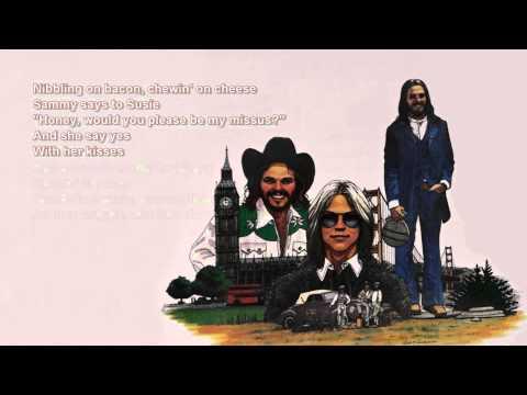 Muskrat Love + AMERICA + Lyrics / HD