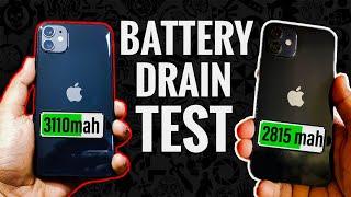 Apple iPhone 12 Vs Apple iPhone 11 Battery Drain Test (2020 Vs 2019)