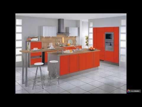 Оранжевые кухни 42 варианта